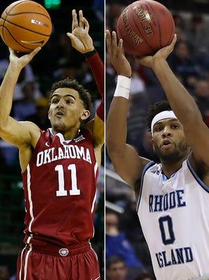 Oklahoma's Trae Young and Rhode Island's E.C. Matthews will go head-to-head.