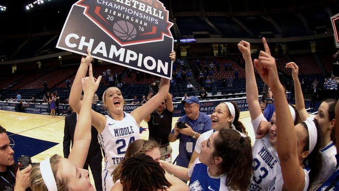Middle Tennessee Lady Raiders will host a number of Power Five opponents this season.