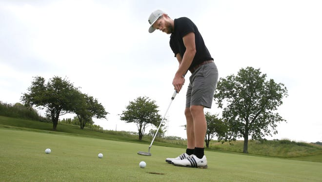 Jack Schultz of Whitefish Bay won the Ray Fischer Amateur Championship last month with a record score of 26-under par.