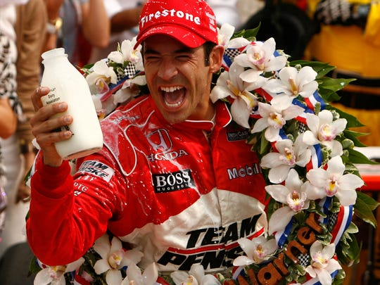 Helio Castroneves, winner of the Indianapolis 500, Indianapolis, IN, Sunday, May 24, 2009.