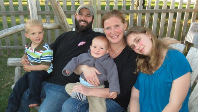 The Dunphey family from Livonia gives back by hosting blood drives.