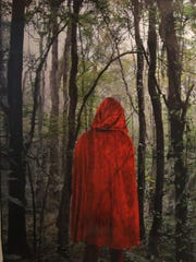 "Florida Sate University School senior Miranda Brown won second place at the show for her portfolio, which included the photograph, ""Into the Woods."""