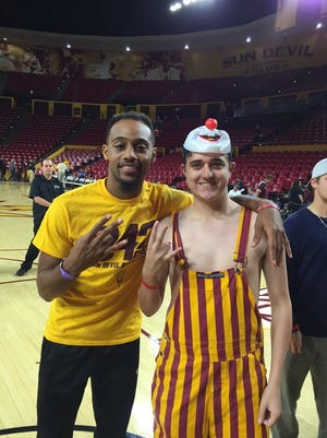 Brandon Armstrong (left) joined the 942 Crew on Wednesday.