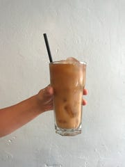 Constellation Horchata, a latte version of the popular rice and cinnamon drink, is one of the drinks offered at Constellation Collective in Collingswood.