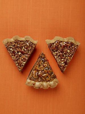 Pecan pie is nearly twice as caloric as pumpkin pie.