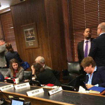 House Committee after discussing HB1228