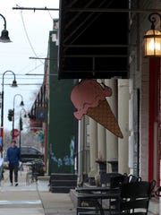 Scenes along Main Street in downtown La Grange and nearby serve as a backdrop for an upcoming Hallmark movie.