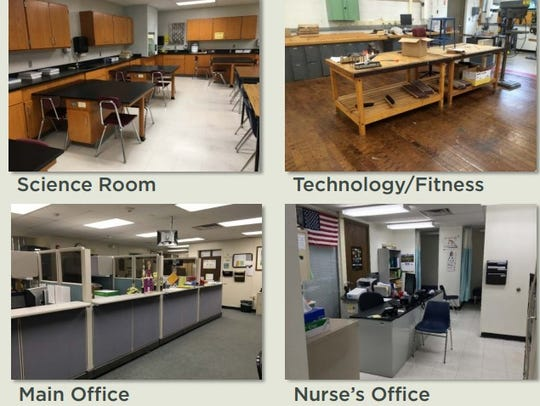 Upgrades are slated for science rooms, technology and