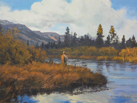 Arts digest sport exhibit mesilla valley gallery for El paso fishing