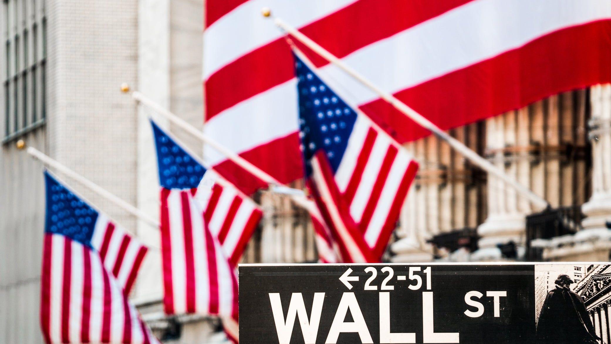 Stocks end lower on Wall Street