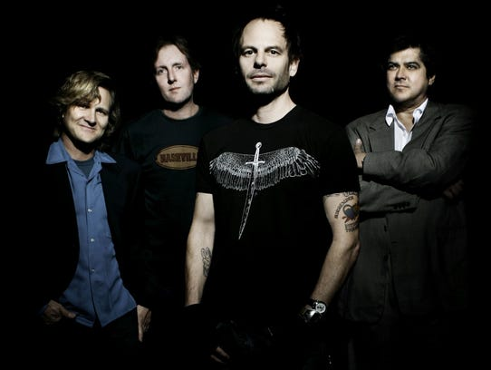 The Gin Blossoms will perform Saturday at the Beach