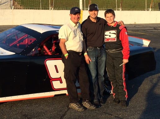 7-17-2014 gilliland family late model