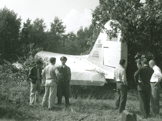 The Colonial Airlines DC-3 came to rest off the end of the runway at the airport in Burlington in 1948 after impacting a stand of trees. A bumped head by the stewardess in this crash remains the only known injury ever suffered in a commercial airliner accident in Vermont.