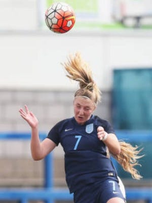Striker Nicole Douglas of England is one of five international signees with Arizona State soccer.