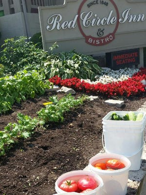 Tomatoes, cucumbers, herbs and other produce from its garden will be featured in an outdoor dinner Sept. 10 at Red Circle Inn in Nashotah.