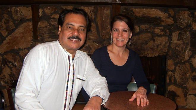 Hugo Saynes and his wife, Janet, run Jalapeño Loco on S. Howell Ave.