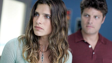 """Lake Bell (left) and Jay R. Ferguson chase answers in NBC's TV series """"Surface,"""" which shot in Wilmington in 2005."""