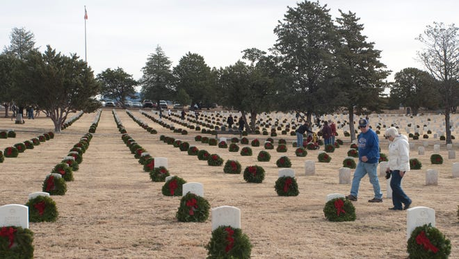 Wreaths Across America will come to the Fort Bayard National Cemetery on Saturday.