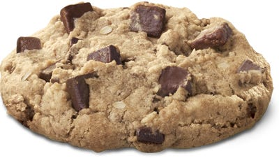 Chick-fil-A's chocolate chunk cookie has been temporarily recalled.