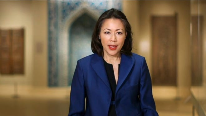 Ann Curry in NBC video series on Twitter diplomacy, in May 2014.