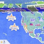 "In the interactive ""Amazing World Atlas,"" kids learn about the world by playing five fun games, ranging from matching countries to locations on a map to repeating a pattern of places to a matching game using the flags of countries."