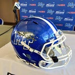 The Blue Raiders reported 105 players Wednesday to camp.