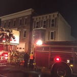 Crews responded to a structure fire on the 700 block of East Market Street on Friday, February 5, 2016.