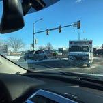 Sunday morning crash on College Ave