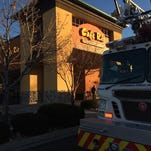 Emergency crews responded to reports of a fire at Café Rio, 4414 S. College Ave., on Thursday morning.