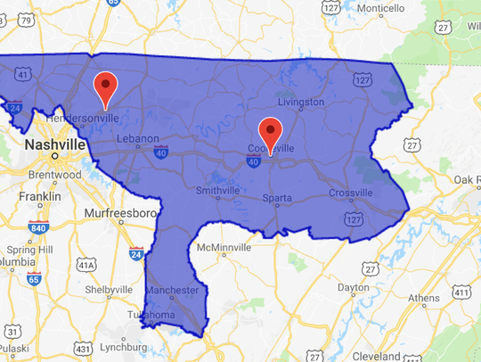 Tennessee's Congressional District 6 includes Wilson,