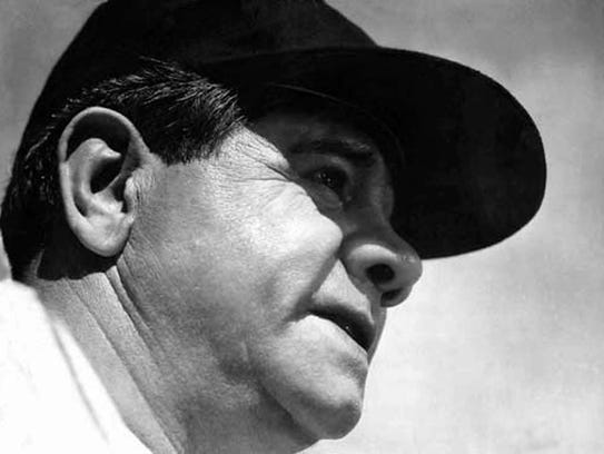 Babe Ruth pitched in 13 games in Detroit. Total, he