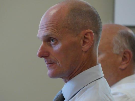 Nolan Atkins is the interim president of Lyndon State