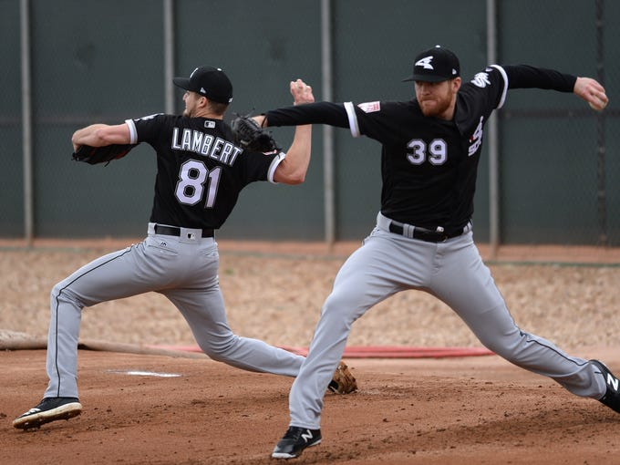 Feb 14, 2019; Glendale, AZ, USA; Chicago White Sox