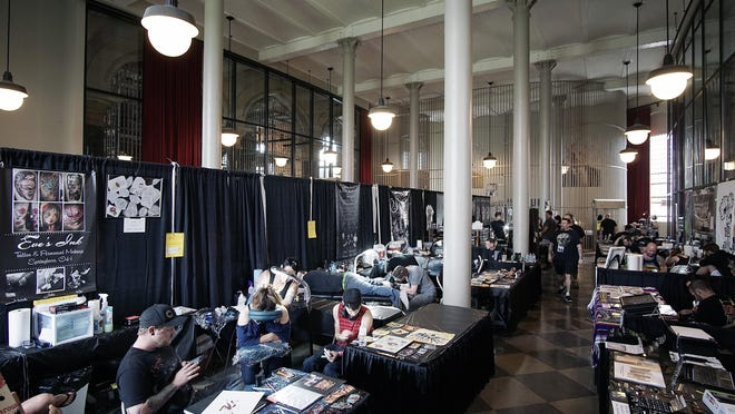Ink in the Clink was held at the Ohio State Reformatory in July 2017. The 2018 show is in limbo, as officials at both the Ohio State Reformatory and the Richland County Fairgrounds have terminated contracts with the tattoo and music festival in light of a lawsuit against the festival's owners.