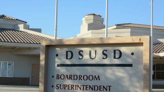 The Desert Sands Unified School District board unanimously approved a two-year teacher contract Friday morning.
