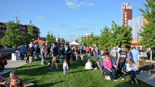 Visitors gather for Oakley After Hours. This year's event kicks off April 28. It continues the final Friday of the month through August at Geier Esplanade on Madison Road.
