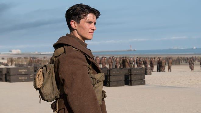 """Fionn Whitehead in """"Dunkirk."""""""