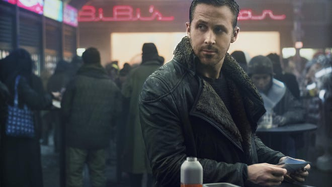 "This image released by Warner Bros. Pictures shows Ryan Gosling in a scene from ""Blade Runner 2049."""