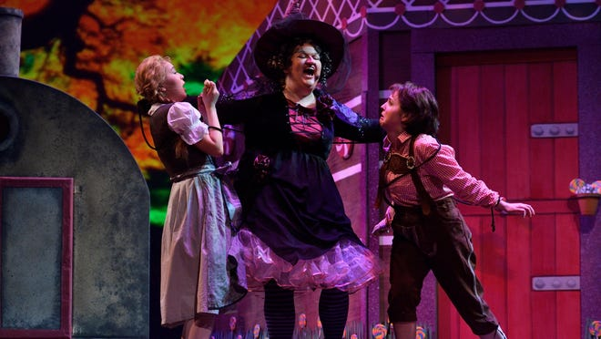 """Michigan State University Opera Theater's """"Hansel and Gretel"""" includes a full cast of singers, symphony orchestra, the Capital Area Ballet Angels and the MSU Children's Chorus."""