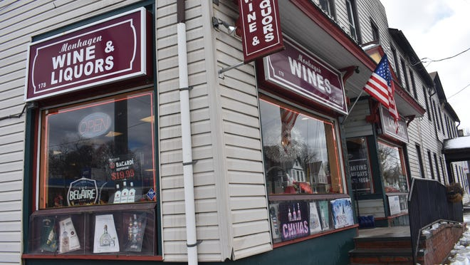 """Monhagen Wine & Liquors was open for business in the City of Middletown on Tuesday. Some mid-Hudson business owners are confused about how the state decided that businesses such as liquor stores were """"essential"""" to stay open during the coronavirus pandemic."""