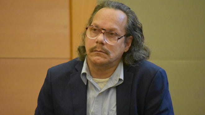 Eduardo Talentino appears in Orange County Court on Thursday and is sentenced to one to three years in prison for falsely presenting himself as a psychiatrist.