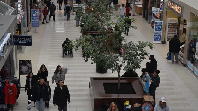 Shoppers at the Galleria at Crystal Run in the Town of Wallkill.  According to Fidelity Investments' 2020 New Year Financial Resolutions Study, 67 percent of those surveyed considered a financial resolution in the new year, a top motivator being to live debt-free.