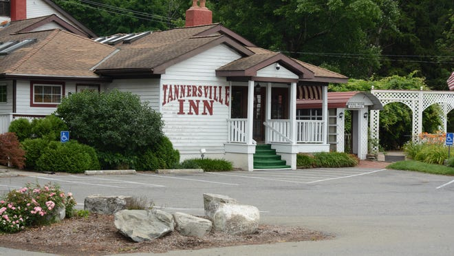 The empty parking of the Tannersville Inn Route 611 in Pocono Township on Thursday.