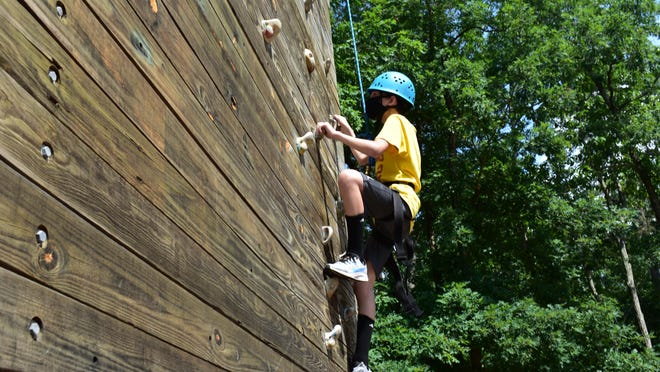 This summer at YMCA of the Pines, campers must wear masks, even during activities.