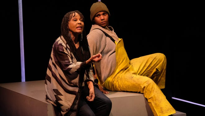 """Carla Nickerson and Kriston Woodreaux were among the four actors who played main roles in Zach Theatre's version of """"Notes from the Field,"""" which will be streamed for free until midnight June 14."""