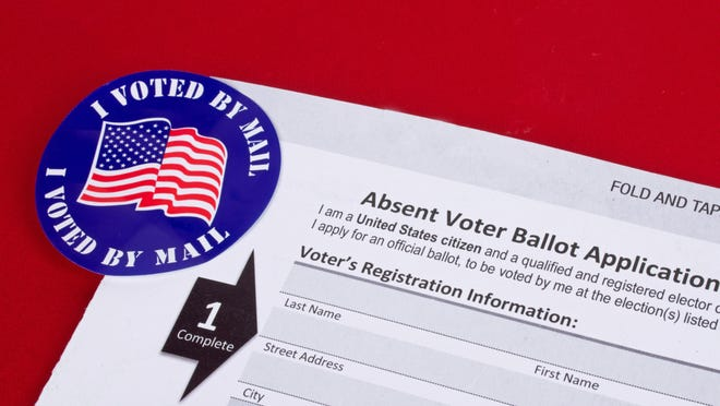 Arkansas Gov. Asa Hutchinson announced Thursday that concern of infection from COVID-19 would qualify people to request an absentee ballot for the 2020 election in November.