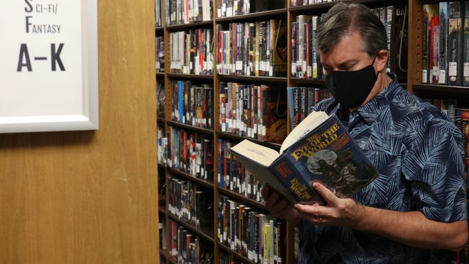 Chip Hadley, Round Rock library supervisor, says fantasy fiction books can bring readers something we can all use right now: hope.