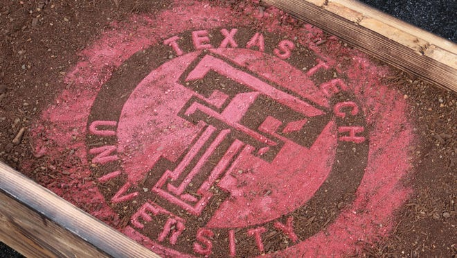 State, city, and school officials break ground for the new Texas Tech School of Veterinary Medicine.