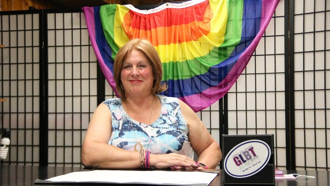 Simone Kraus, vice president of the TriVersityCenter, said 40 percent of transgender people have attempted suicide.