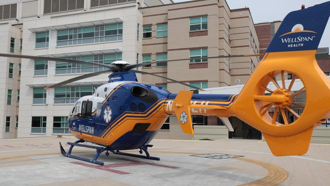 WellFlight, WellSpan Health's new medical helicopter service, will transport critically injured or ill patients from Franklin, Adams and York counties to acute care hospitals. PROVIDED PHOTO